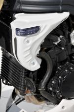 Ecopes de radiateur   clignotants Ermax Speed Triple 1050  05 07